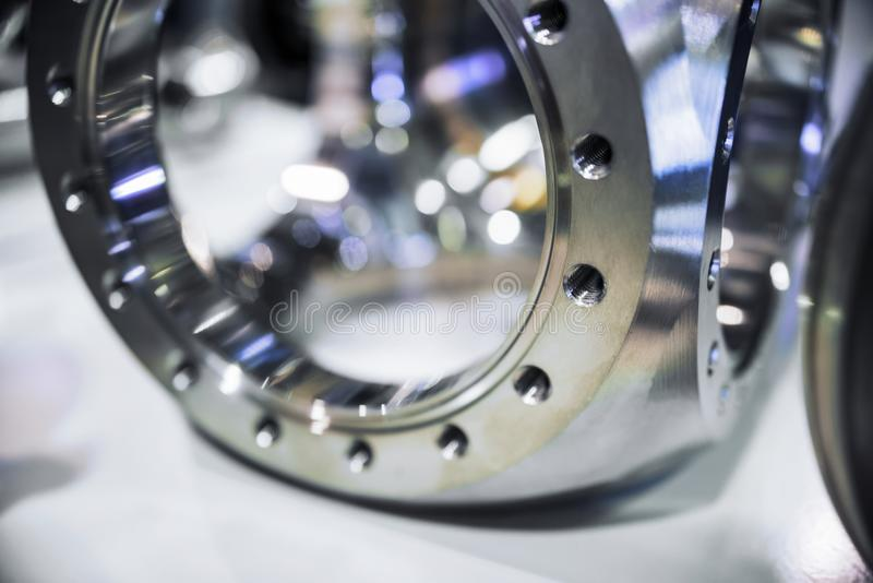 Оборудование вакуума металла, отполированный сияющий металл стоковые изображения rf