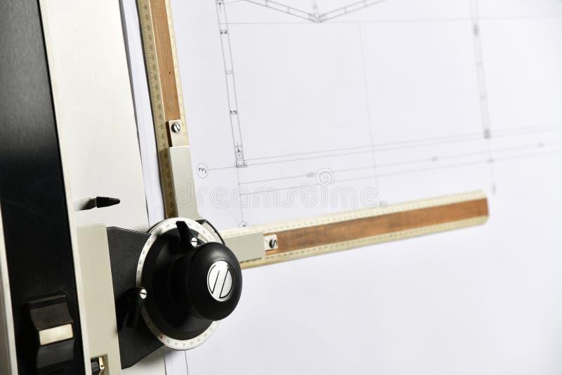 Оборудование для рисования и инструменты стоковое фото rf