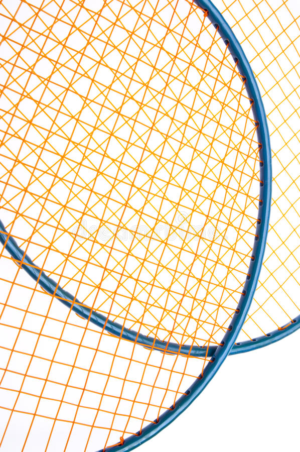 оборудование badminton живое стоковые изображения rf