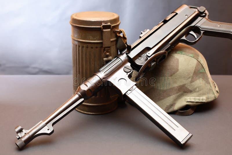 Оборудование Германии Второй Мировой Войны стоковые фотографии rf