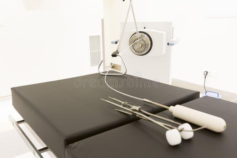 Оборудование лечения рака стоковое фото rf