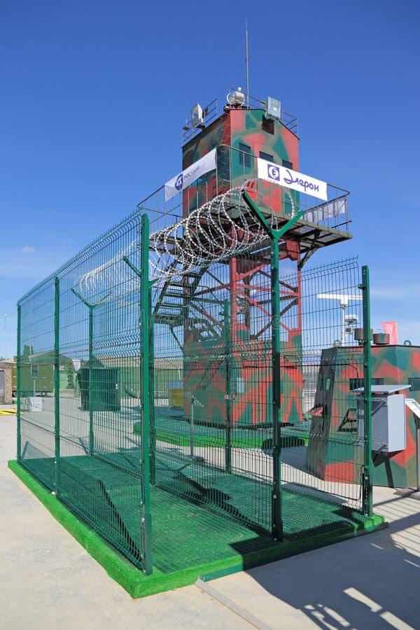 Оборудование и технологии защиты зон периметров стоковые фотографии rf