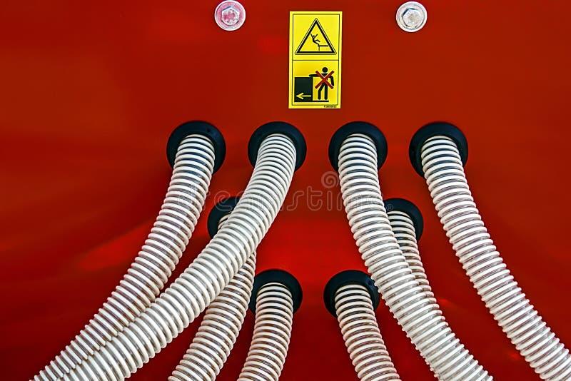 Оборудование Industriall. Детали   стоковые фотографии rf