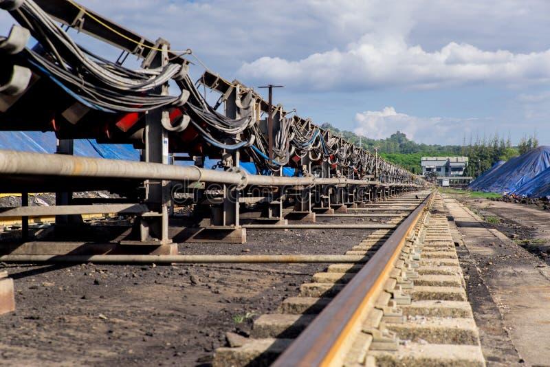 Обрабатывать в угольной шахте стоковое фото