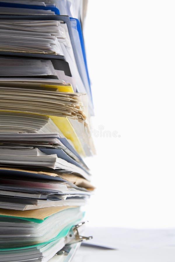 обработка документов стоковая фотография