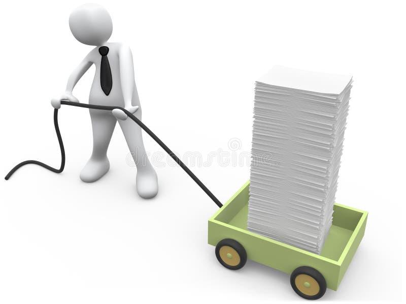обработка документов бесплатная иллюстрация