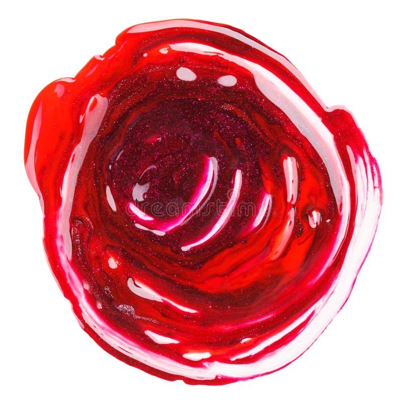 образец грязного смешанного маникюра пурпуровый красный стоковое фото rf