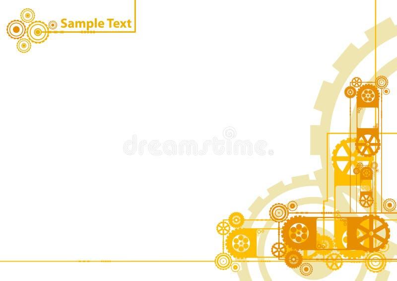 образец логоса clockwork предпосылки бесплатная иллюстрация