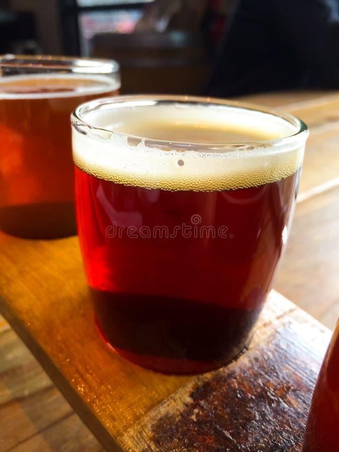 Образец пива ремесла стоковые изображения rf