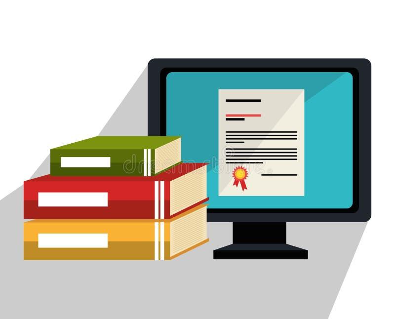 Образование, академичный trainning и наука бесплатная иллюстрация
