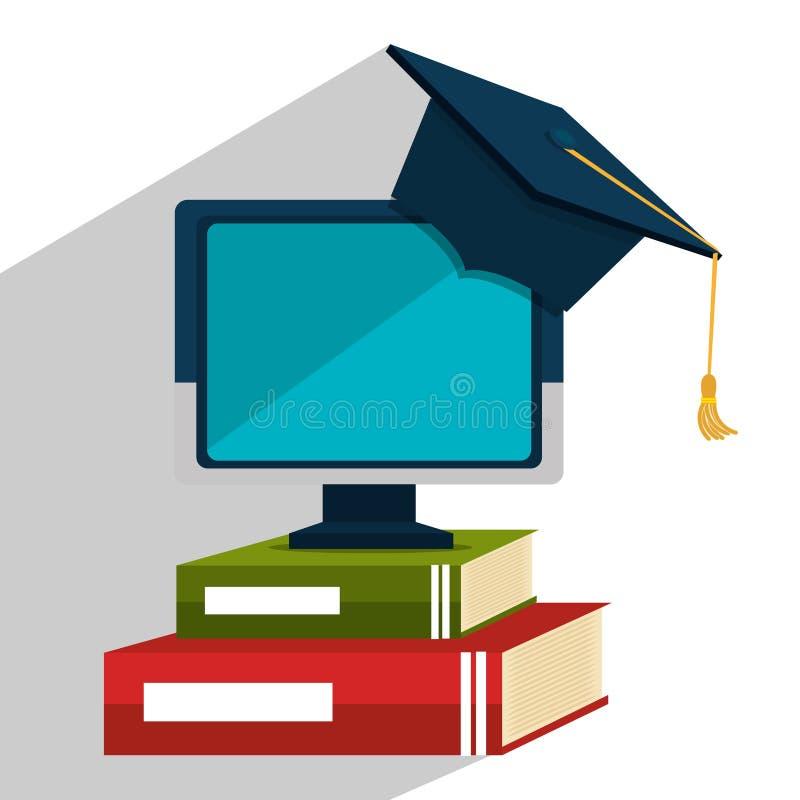Образование, градация и академичный trainning иллюстрация вектора