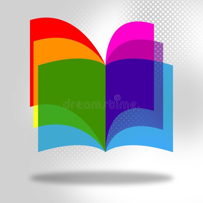 Образование записывает обучать и развитие исследования середин иллюстрация вектора