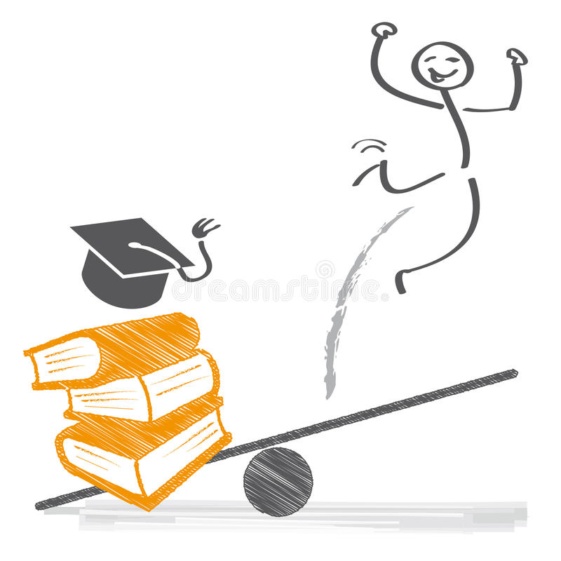 Образование и карьера бесплатная иллюстрация