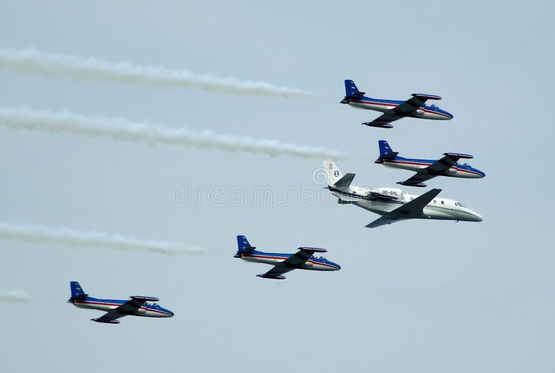 образование штурма самолета стоковое фото rf