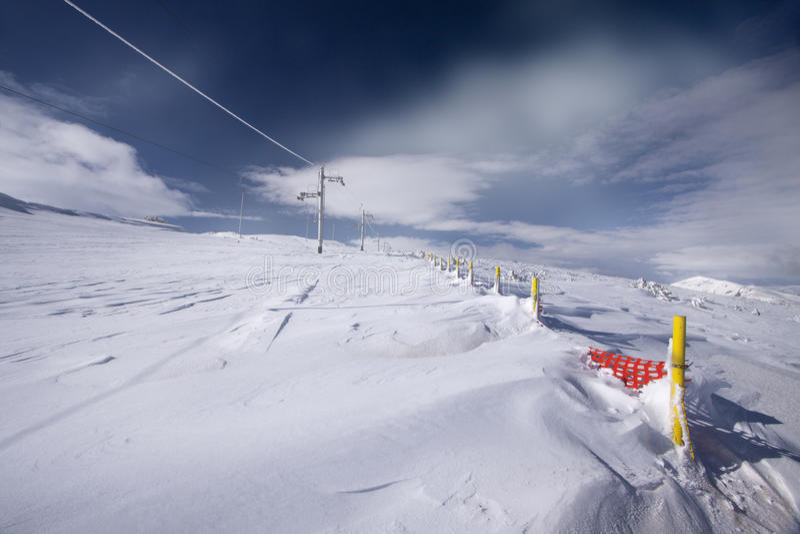 Образования снега Musala стоковое фото rf