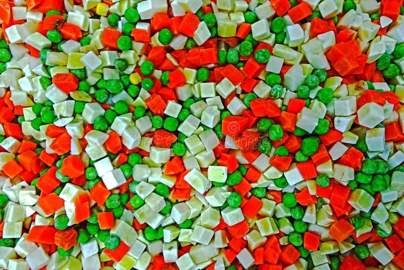 Образуйте с смешанными, который замерли овощами 1 стоковая фотография rf