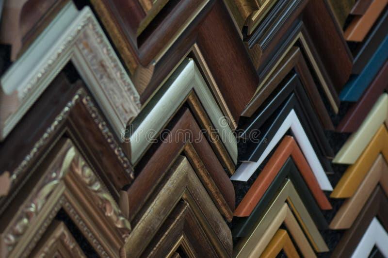 Образцы картинной рамки стоковая фотография