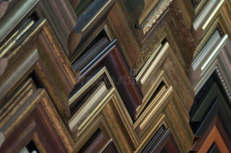 Образцы картинной рамки стоковые изображения rf