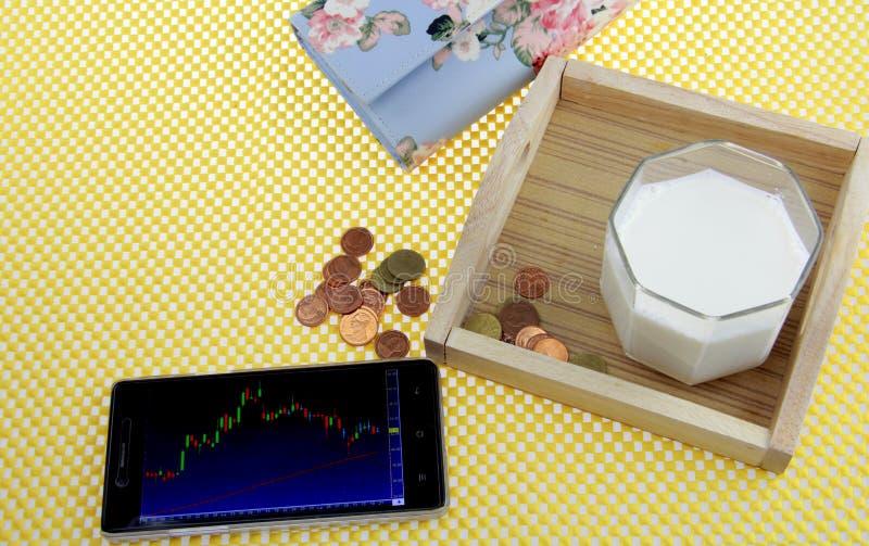 образ жизни атмосферы фондовой биржи каждый день стоковое фото