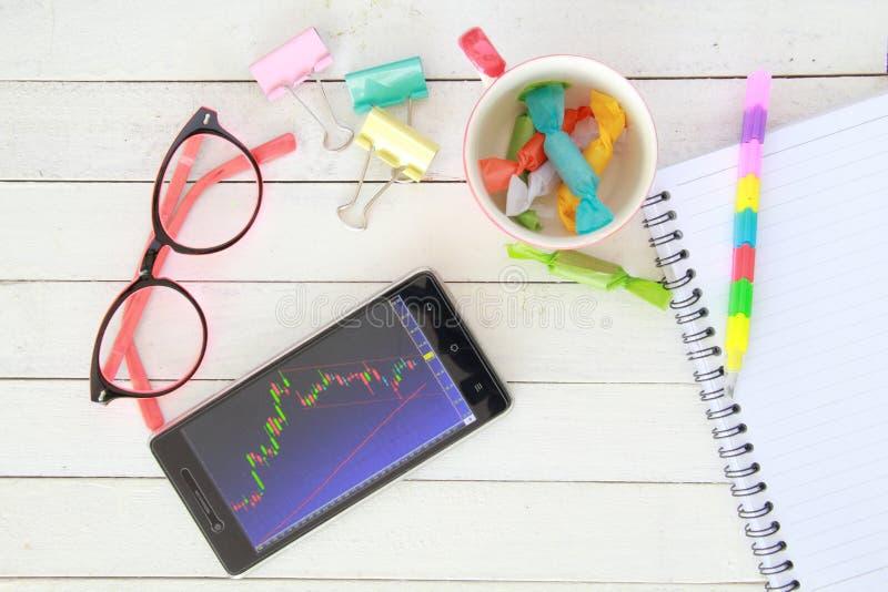 образ жизни атмосферы фондовой биржи каждый день стоковая фотография
