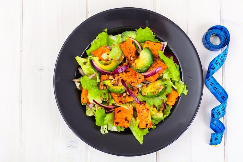 Образ жизни еды еды здоровый Концепция рецепта меню еды и фитнеса Правильное питание, блюда от овощей стоковая фотография