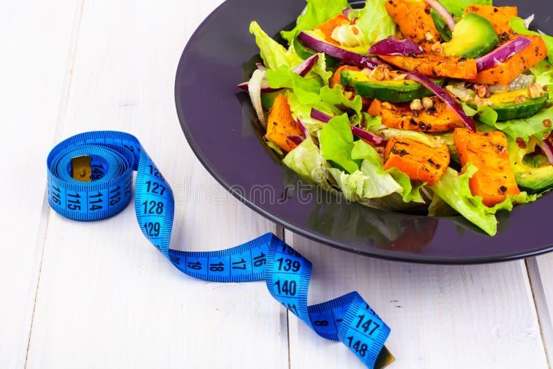Образ жизни еды еды здоровый Концепция рецепта меню еды и фитнеса Правильное питание, блюда от овощей стоковая фотография rf