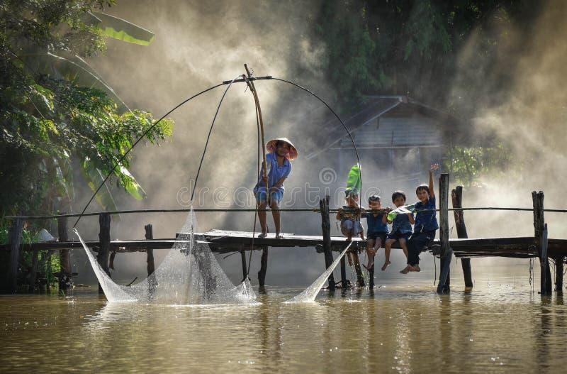 Образ жизни Юго-Восточная Азия стоковое изображение