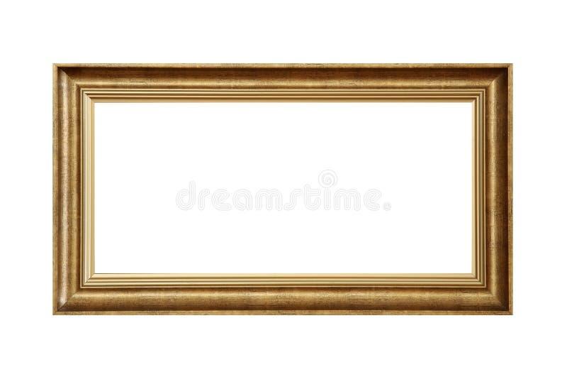 обрамите золотистое стоковые фотографии rf