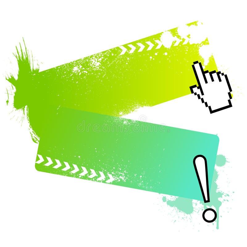 обрамляет вектор сообщения иллюстрация вектора