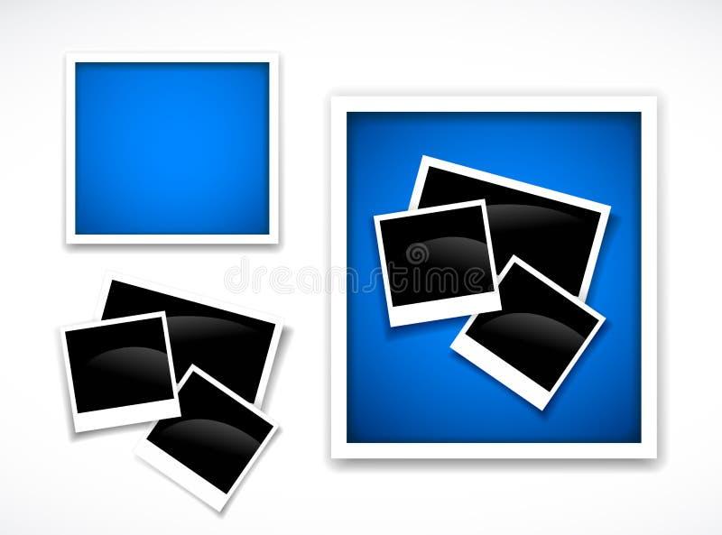 обрамляет фото иллюстрация вектора