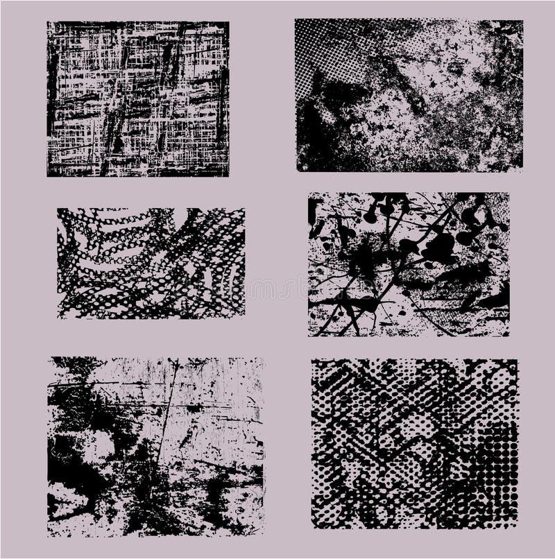 обрамляет grunge иллюстрация вектора