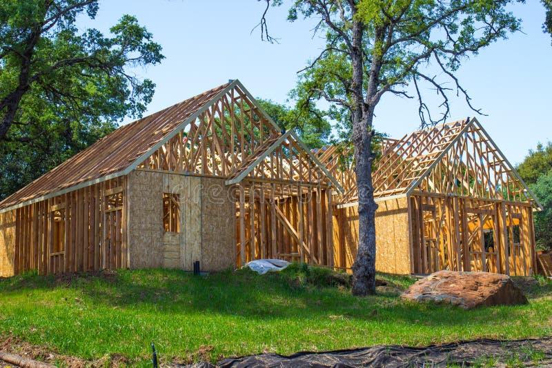 Обрамлять на новой домашней конструкции стоковые изображения rf