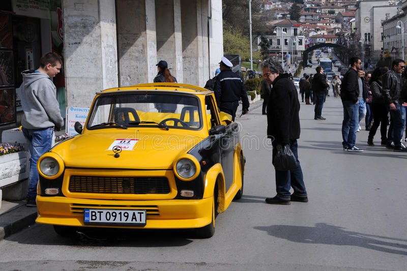 Обратимое Trabant стоковые изображения