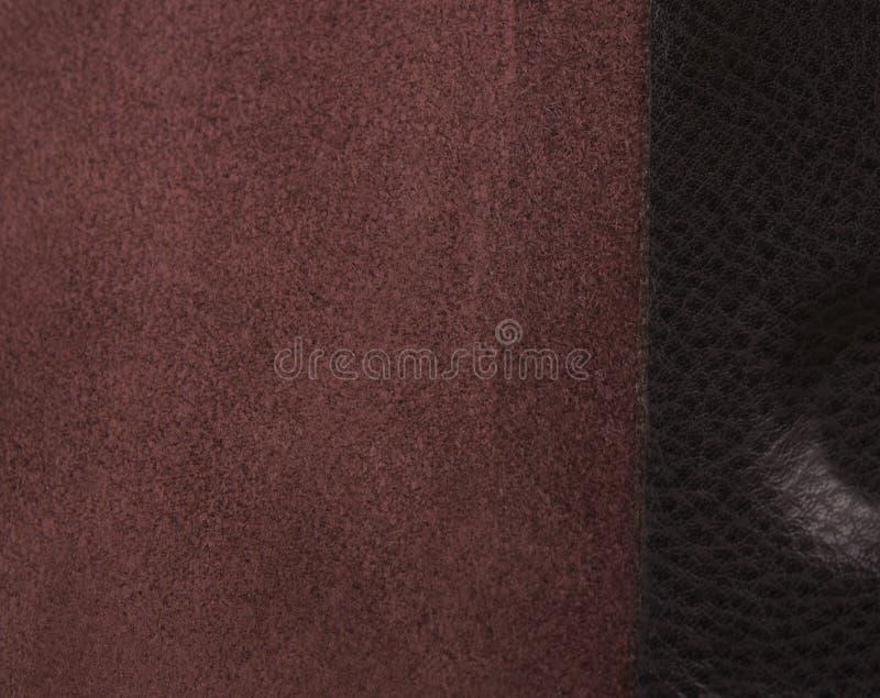 Обратная сторона кожи; кожаная текстура как предпосылка стоковое изображение rf