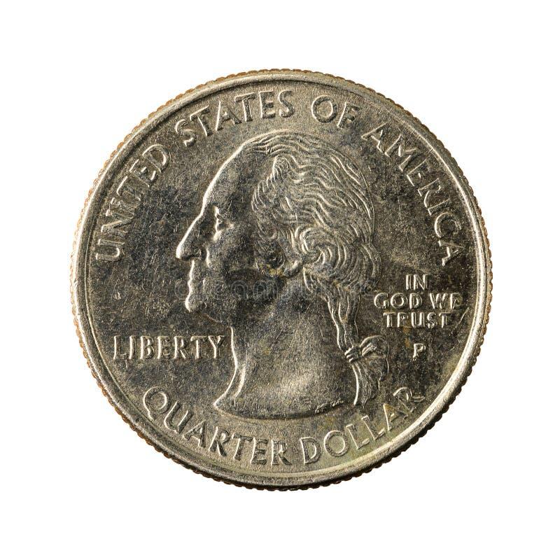 1 обратный 2002 Теннесси монетки квартала Соединенных Штатов стоковое изображение rf