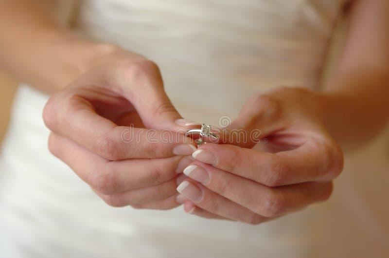 обручальное кольцо стоковое изображение rf
