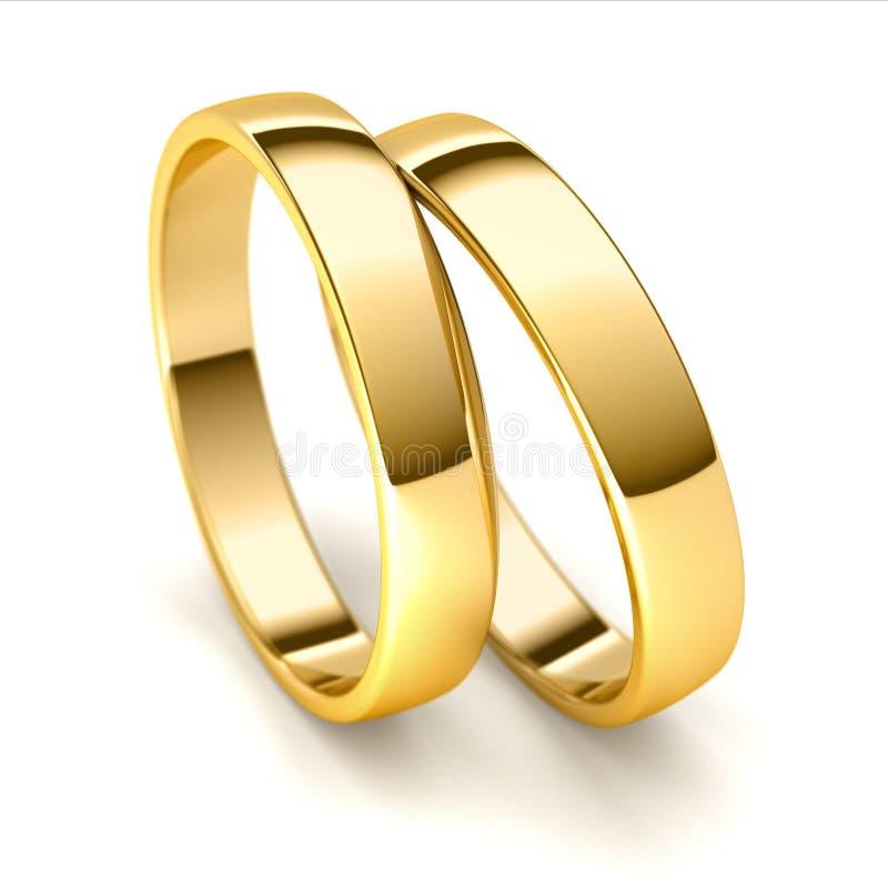 Обручальные кольца бесплатная иллюстрация