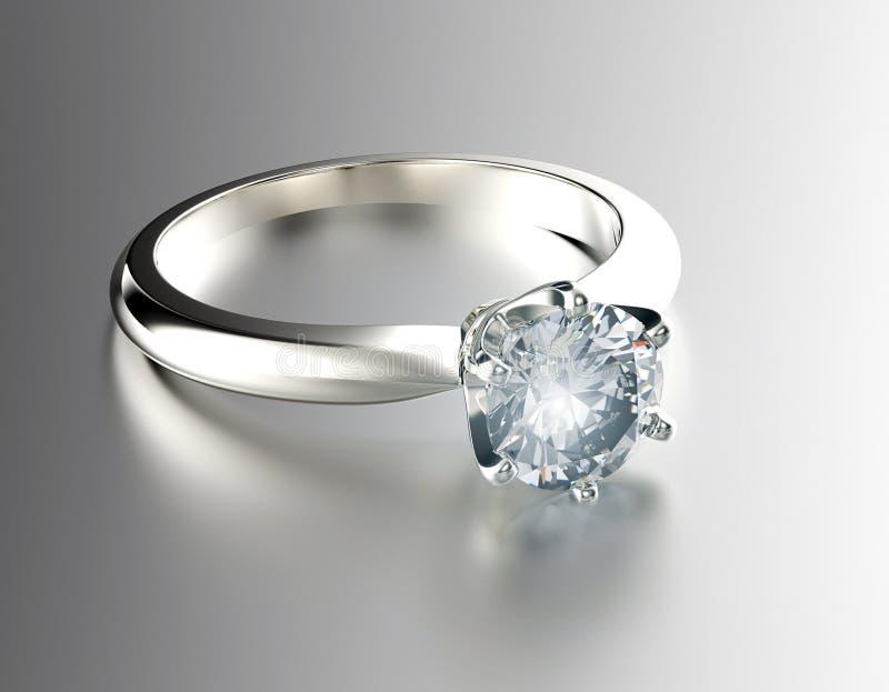 Обручальное кольцо с диамантом серебр ювелирных изделий золота ткани предпосылки черный стоковое фото