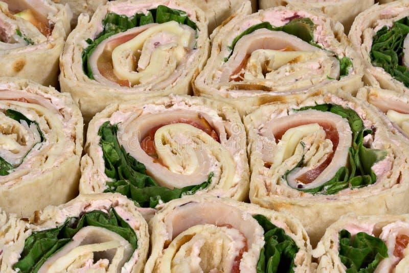 обруч индюка сандвичей стоковое изображение rf