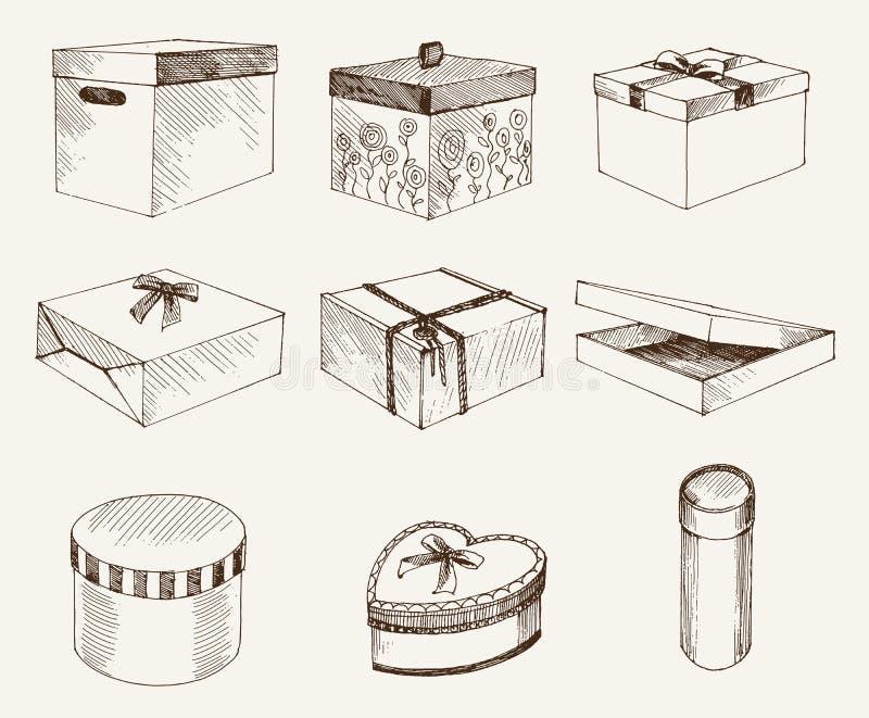 Обруч подарка иллюстрация вектора