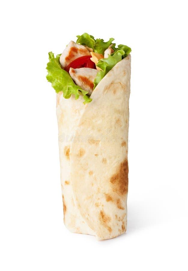 Обруч Tortilla, fajita стоковое изображение