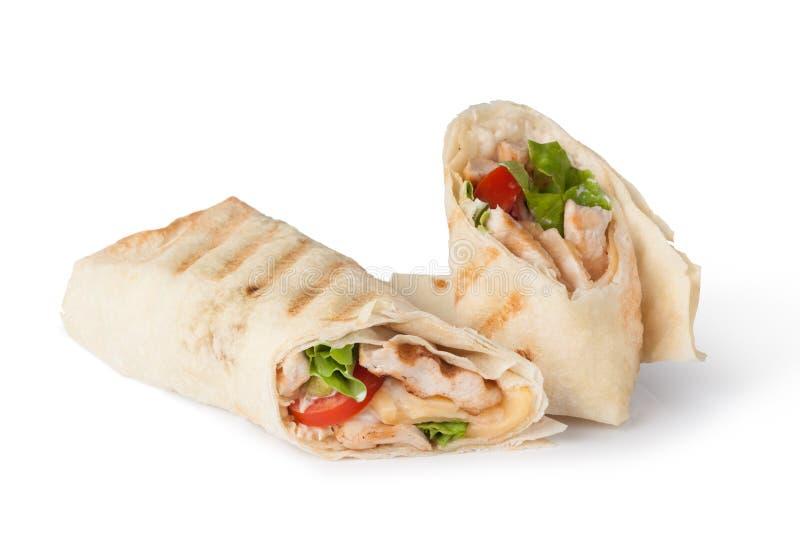Обруч Tortilla, fajita стоковое изображение rf