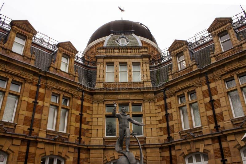 Обсерватория Гринвич королевская стоковое изображение