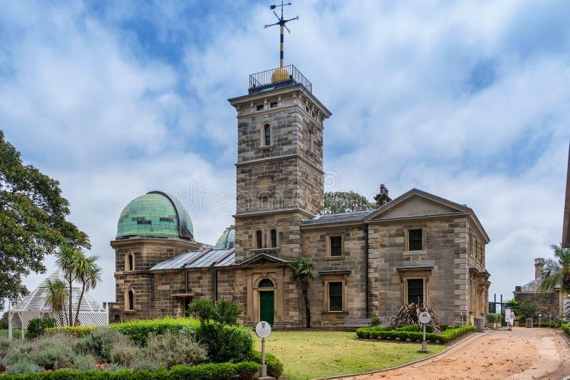 Обсерватория Сиднея стоковое изображение rf