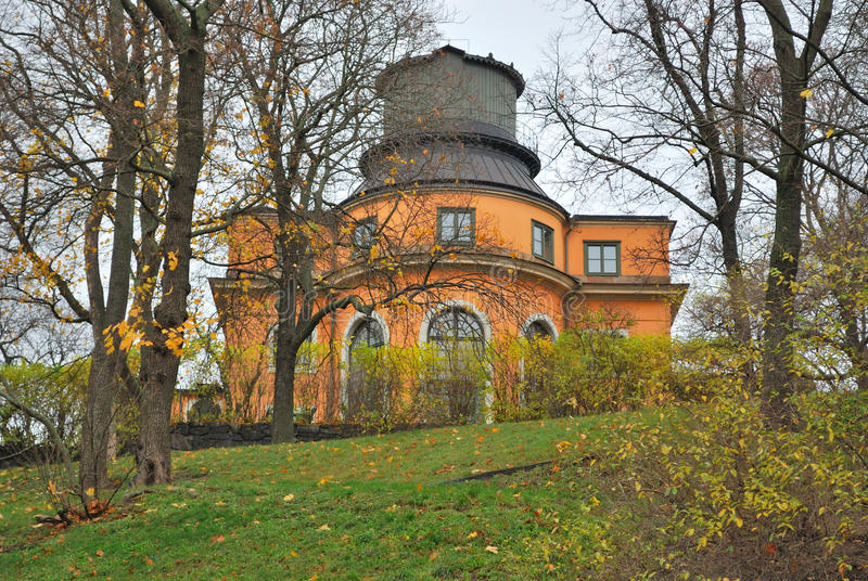 Обсерватория Стокгольма стоковые фото