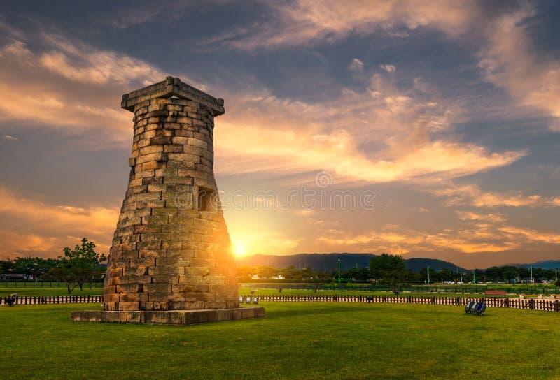 Обсерватория Cheomseongdae стоковое фото