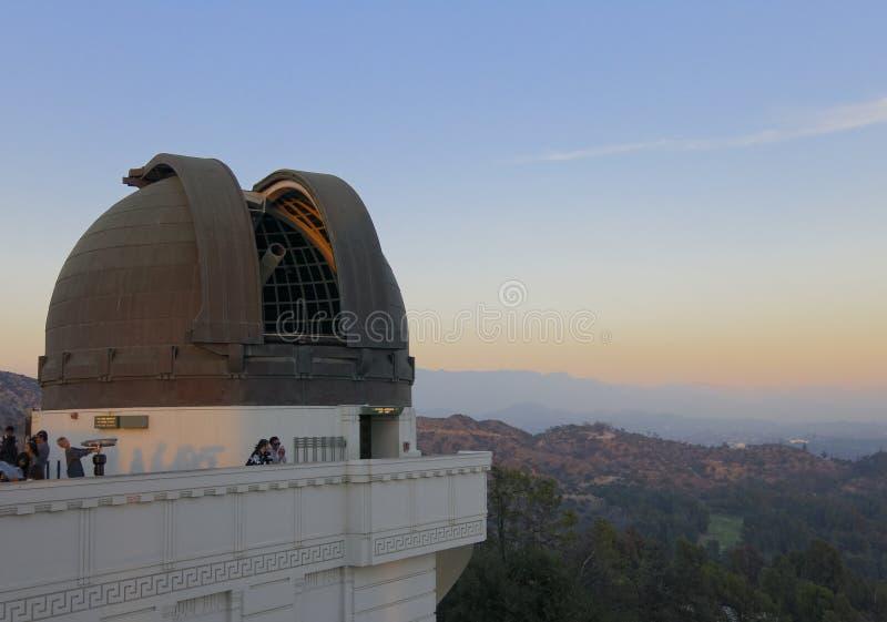 Обсерватория Griffith стоковое фото