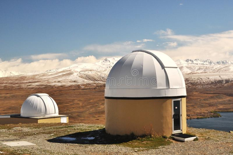 обсерватория john mt стоковая фотография