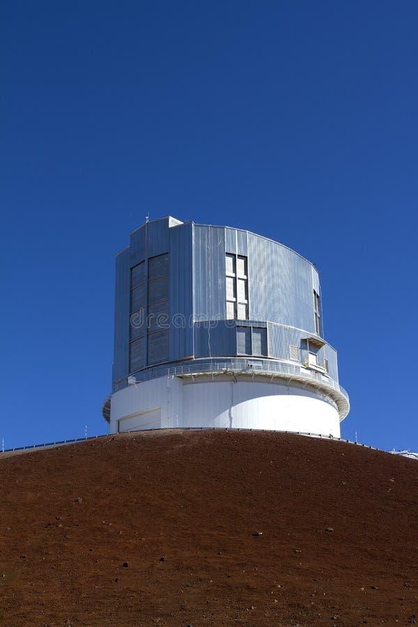 обсерватория mauna kea стоковое фото