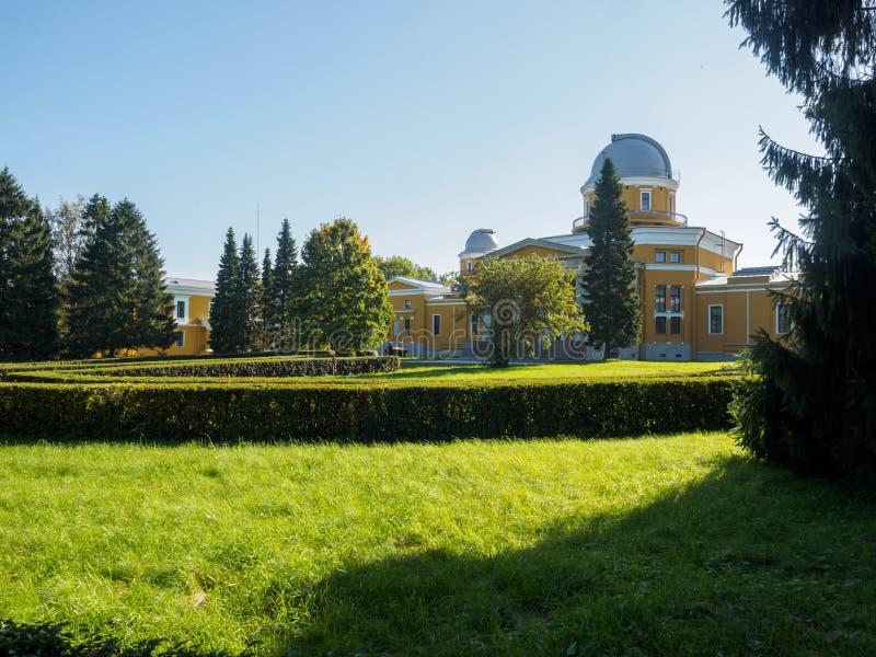 Обсерватория Pulkovo стоковые изображения